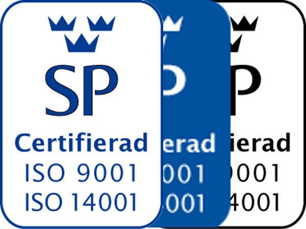 Certifiering av ISO 9001 och 14001