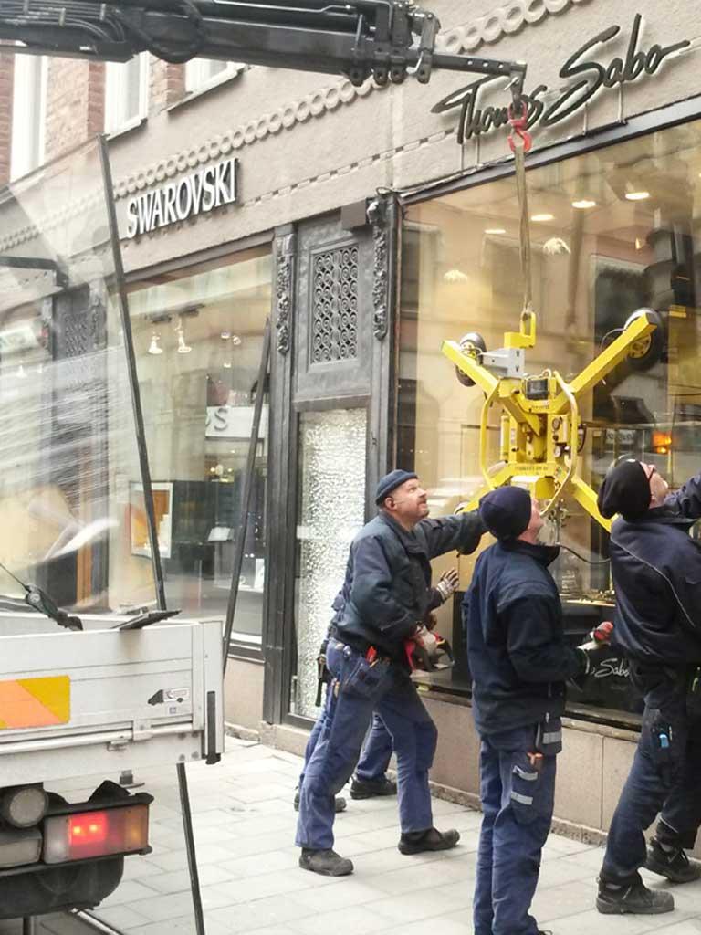 stor sluts underkastelse i Stockholm