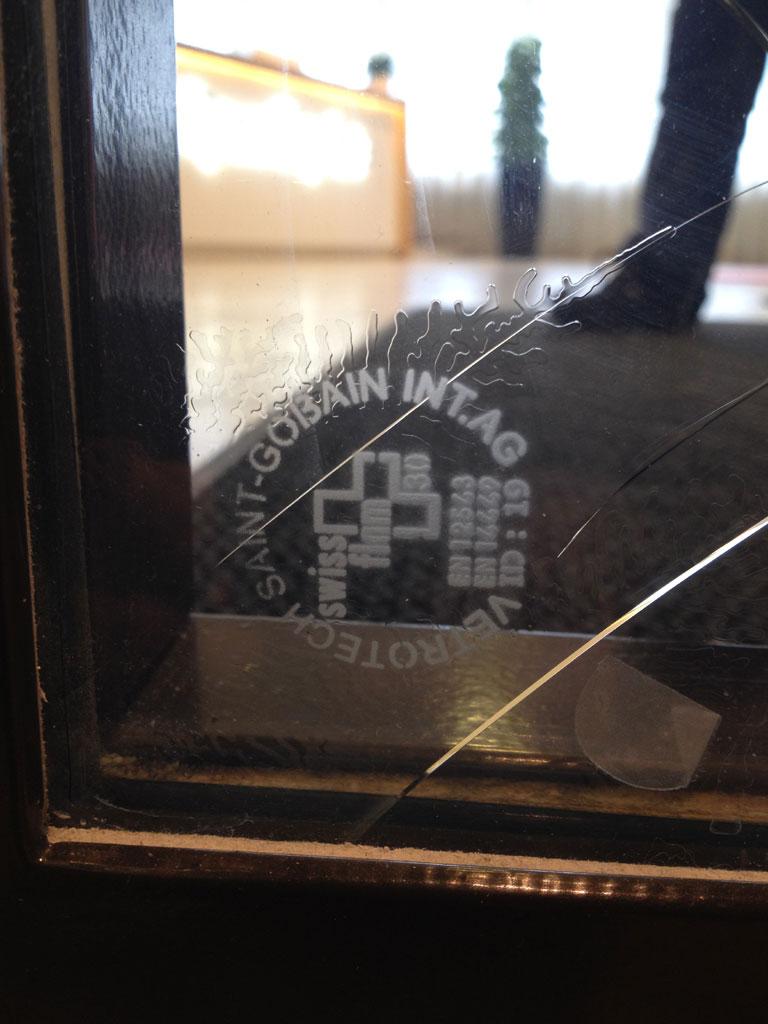 Sprucket brandglas