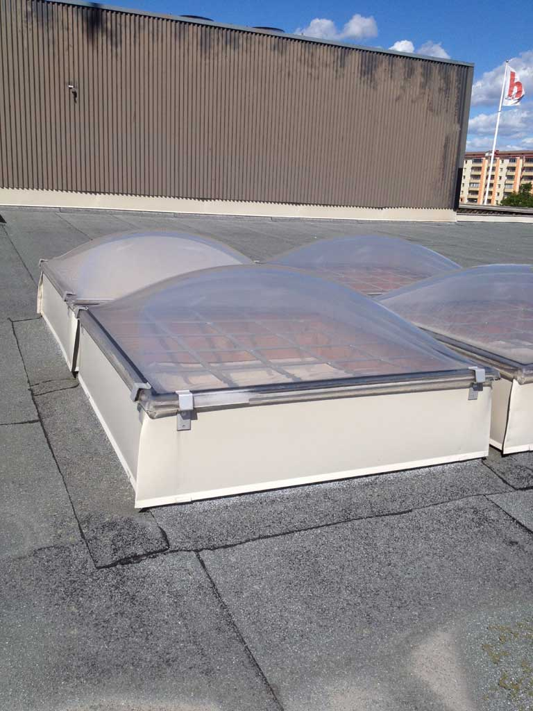 Plastkåpa tak